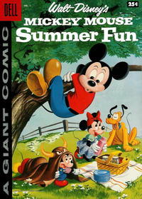Cover Thumbnail for Mickey Mouse Summer Fun (Dell, 1958 series) #1