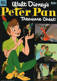 Cover Thumbnail for Peter Pan Treasure Chest (Dell, 1953 series) #1