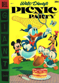 Cover Thumbnail for Walt Disney's Picnic Party (Dell, 1955 series) #7