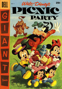 Cover Thumbnail for Walt Disney's Picnic Party (Dell, 1955 series) #8