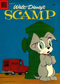 Cover for Walt Disney's Scamp (Dell, 1958 series) #5
