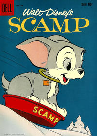 Cover for Walt Disney's Scamp (Dell, 1958 series) #8