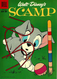 Cover Thumbnail for Walt Disney's Scamp (Dell, 1958 series) #10