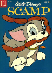 Cover Thumbnail for Walt Disney's Scamp (Dell, 1958 series) #12