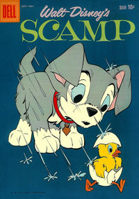 Cover Thumbnail for Walt Disney's Scamp (Dell, 1958 series) #15