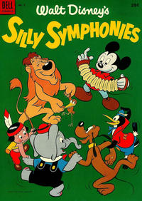 Cover Thumbnail for Silly Symphonies (Dell, 1952 series) #2