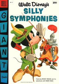 Cover Thumbnail for Silly Symphonies (Dell, 1952 series) #6