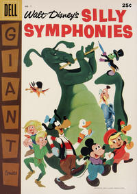 Cover Thumbnail for Silly Symphonies (Dell, 1952 series) #7