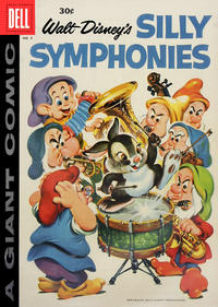 Cover Thumbnail for Walt Disney's Silly Symphonies (Dell, 1952 series) #8