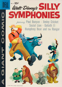 Cover Thumbnail for Silly Symphonies (Dell, 1952 series) #9