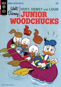 Cover Thumbnail for Walt Disney Huey, Dewey and Louie Junior Woodchucks (Western, 1966 series) #2