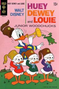 Cover Thumbnail for Walt Disney Huey, Dewey and Louie Junior Woodchucks (Western, 1966 series) #3