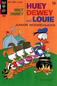 Cover Thumbnail for Walt Disney Huey, Dewey and Louie Junior Woodchucks (Western, 1966 series) #7