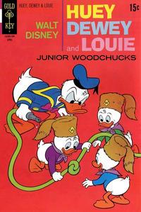 Cover Thumbnail for Walt Disney Huey, Dewey and Louie Junior Woodchucks (Western, 1966 series) #9