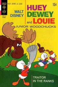Cover Thumbnail for Walt Disney Huey, Dewey and Louie Junior Woodchucks (Western, 1966 series) #11