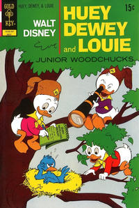 Cover Thumbnail for Walt Disney Huey, Dewey and Louie Junior Woodchucks (Western, 1966 series) #15 [Gold Key]