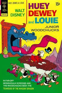 Cover Thumbnail for Walt Disney Huey, Dewey and Louie Junior Woodchucks (Western, 1966 series) #19 [Gold Key]