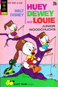 Cover for Walt Disney Huey, Dewey and Louie Junior Woodchucks (Western, 1966 series) #20