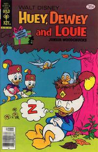 Cover Thumbnail for Walt Disney Huey, Dewey and Louie Junior Woodchucks (Western, 1966 series) #52 [Gold Key]
