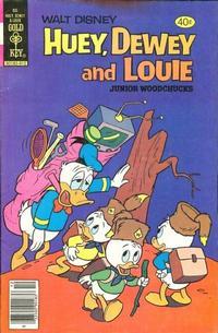 Cover Thumbnail for Walt Disney Huey, Dewey and Louie Junior Woodchucks (Western, 1966 series) #60