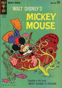 Cover Thumbnail for Mickey Mouse (Western, 1962 series) #86