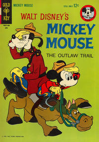 Cover Thumbnail for Mickey Mouse (Western, 1962 series) #94