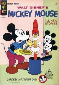 Cover Thumbnail for Mickey Mouse (Western, 1962 series) #98