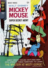 Cover Thumbnail for Mickey Mouse (Western, 1962 series) #109