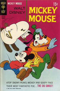 Cover Thumbnail for Mickey Mouse (Western, 1962 series) #120