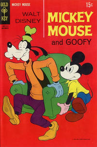 Cover Thumbnail for Mickey Mouse (Western, 1962 series) #123