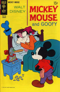 Cover Thumbnail for Mickey Mouse (Western, 1962 series) #124