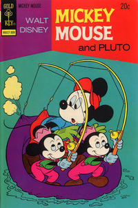 Cover Thumbnail for Mickey Mouse (Western, 1962 series) #144 [Gold Key Variant]