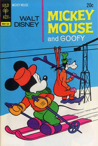 Cover Thumbnail for Mickey Mouse (Western, 1962 series) #147 [Gold Key Variant]