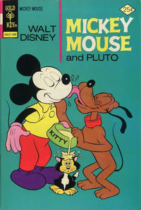 Cover Thumbnail for Mickey Mouse (Western, 1962 series) #150 [Gold Key]