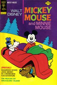 Cover Thumbnail for Mickey Mouse (Western, 1962 series) #151 [Gold Key]