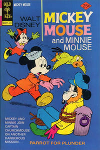 Cover Thumbnail for Mickey Mouse (Western, 1962 series) #152 [Gold Key]