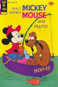 Cover Thumbnail for Mickey Mouse (Western, 1962 series) #158 [Gold Key]