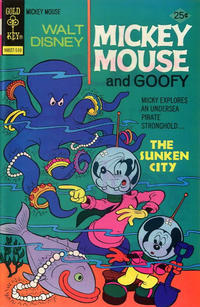 Cover Thumbnail for Mickey Mouse (Western, 1962 series) #159 [Gold Key]