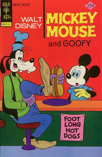 Cover Thumbnail for Mickey Mouse (Western, 1962 series) #160 [Gold Key]