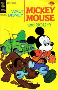 Cover Thumbnail for Mickey Mouse (Western, 1962 series) #161 [Gold Key]