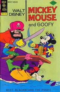Cover Thumbnail for Mickey Mouse (Western, 1962 series) #164 [Gold Key Variant]