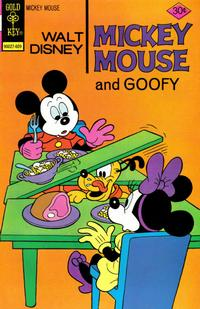 Cover Thumbnail for Mickey Mouse (Western, 1962 series) #166 [Gold Key]