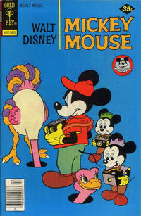 Cover Thumbnail for Mickey Mouse (Western, 1962 series) #181 [Gold Key]