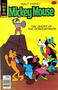 Cover Thumbnail for Mickey Mouse (Western, 1962 series) #185 [Gold Key]