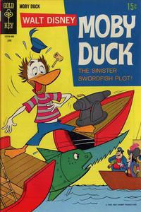 Cover Thumbnail for Walt Disney Moby Duck (Western, 1967 series) #6