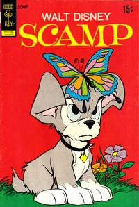 Cover Thumbnail for Walt Disney Scamp (Western, 1967 series) #8 [Gold Key Variant]