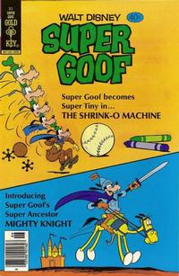 Cover Thumbnail for Walt Disney Super Goof (Western, 1965 series) #53 [Gold Key]