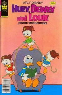 Cover Thumbnail for Walt Disney Huey, Dewey and Louie Junior Woodchucks (Western, 1966 series) #64