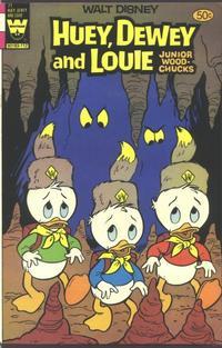 Cover Thumbnail for Walt Disney Huey, Dewey and Louie Junior Woodchucks (Western, 1966 series) #71