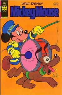 Cover Thumbnail for Mickey Mouse (Western, 1962 series) #208